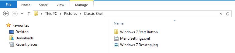 Classic-Shell-Folder